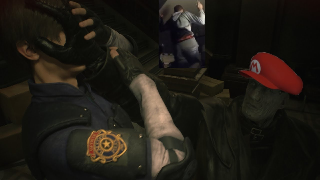 Mr X Gon Give It To Ya I Resident Evil 2 Sneakus Edition Youtube