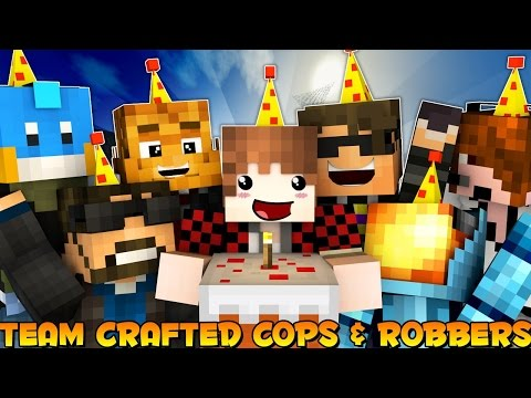 Minecraft: Cops N' Robbers With Team Crafted REUNITED!