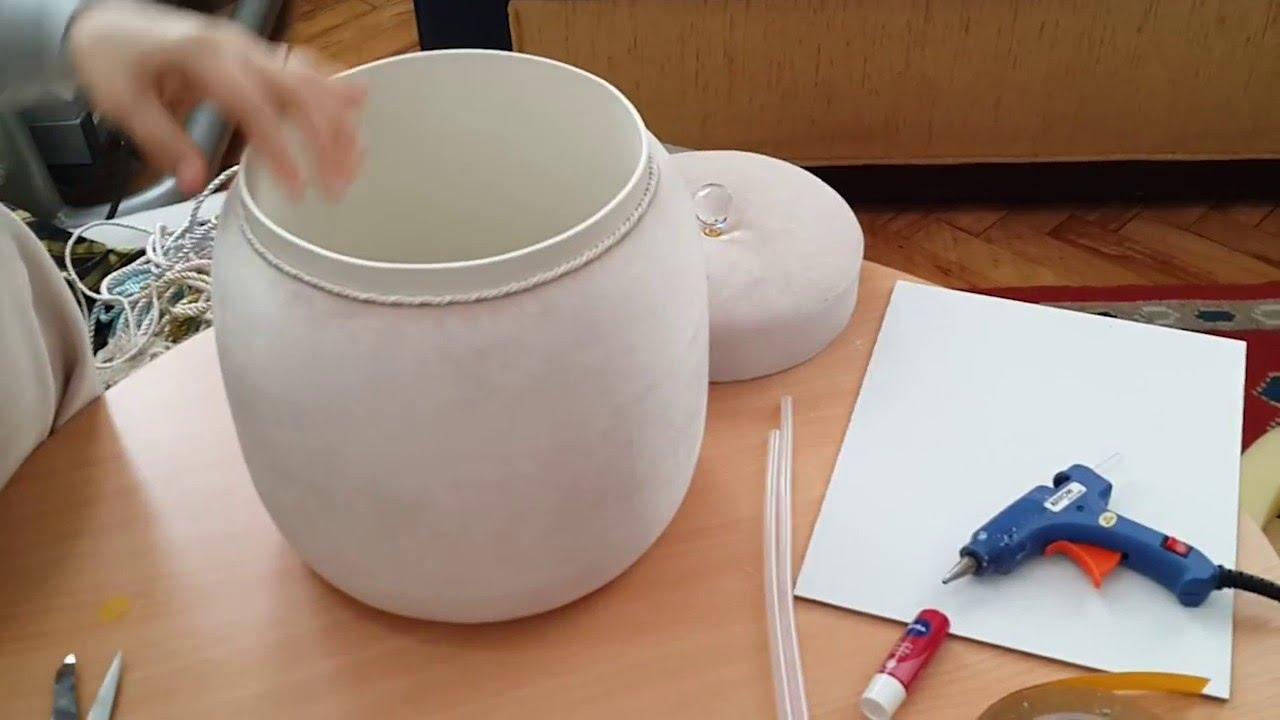 Deterjan Kabından İp Saklama Kabı Yapımı