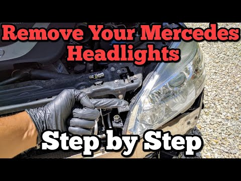 How to Replace your Mercedes-Benz Headlights
