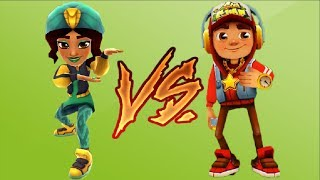 Subway Surfers Salma VS Jake Marrakesh 2017 Марафон Обновление