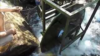 Испытания МиниГЭС(Инновационная миниГЭС предназначенная для горных рек. Ведутся испытания., 2014-08-06T17:32:53.000Z)