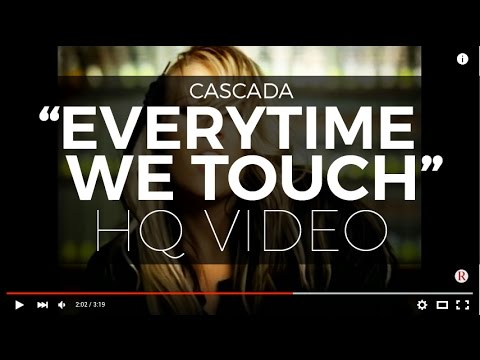 "Cascada - ""Everytime We Touch"" (Official Video) (Digitally Remastered - Highest Quality Available)"