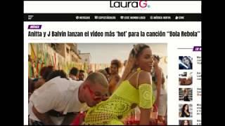 Baixar Bola Rebola, novo single de Anitta, é destaque na mídia internacional