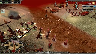 Dawn of War - Soulstorm | Chaos vs. Space Marines BO5 [Maniac vs. Mixalich]