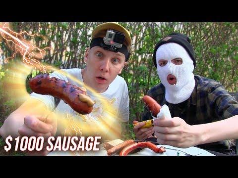 $1 Sausage Vs.  $1000 Sausage (Grill Food Review)