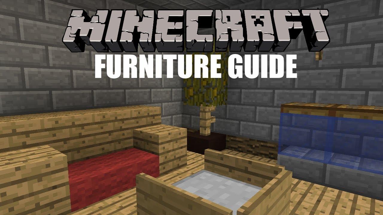 Minecraft Furniture minecraft furniture guide! - youtube