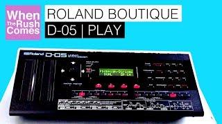 Roland Boutique D-05 Synthęsizer   Play (Sounds demo)
