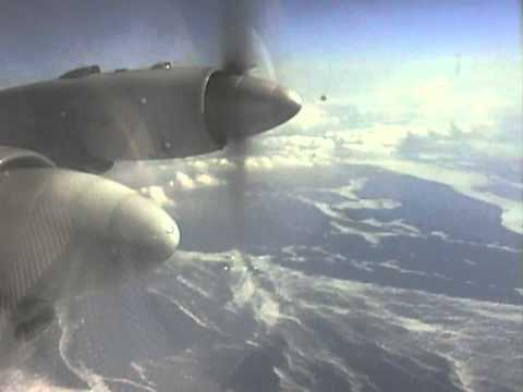 THE SIGHT & THE SOUND 4/14 : Balkan IL-18 LZ-BEU Atlantic crossing from Shannon to St' Johns, Canada