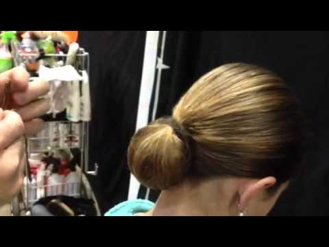 show the different hair style tph show bun demo 8629