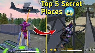 Download Top 5 Secret Hiding places in Free fire // Top Secrets🔥🔥 Mp3 and Videos