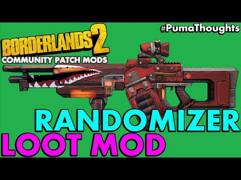 Borderlands 2 Randomizer Reborn Mod 2017 PC Gameplay (NO