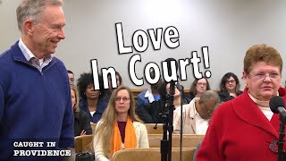 Love In Court!