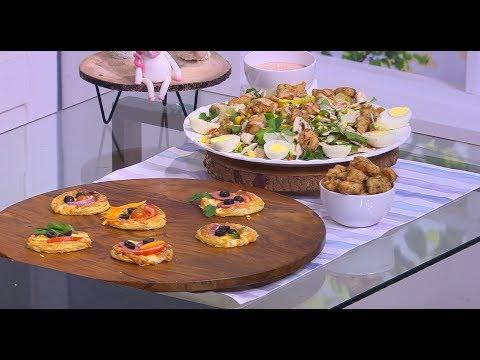 دجاج بوب كورن - بوب كورن مع سلطة - ميني بيتزا للأطفال : زعفران وفانيلا (حلقة كاملة)