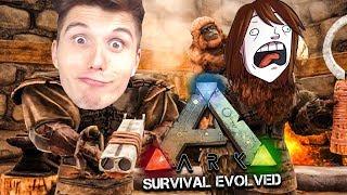 Er hat einen AFFEN & ich einen geilen BALLERMANN ☆ ARK: Survival Evolved #19