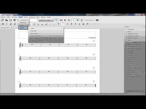 MuseScore 1 - Inserção de Compassos - With Loop Control