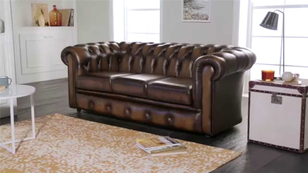 winchester chesterfield sofa from sofas by saxon youtube. Black Bedroom Furniture Sets. Home Design Ideas