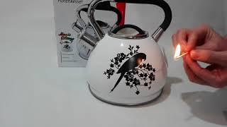 Чайник изменяющий свой цвет после нагрева - Чайник 2,7л Klausberg KB7251 - обзор