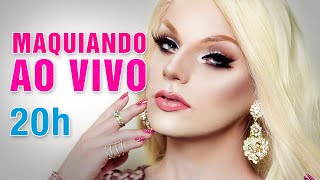Maquiando ao Vivo - Make Dragqueen - Lorelay Fox