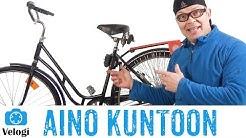 Vanhan pyörän kunnostus | Helkama Aino vm. 1986
