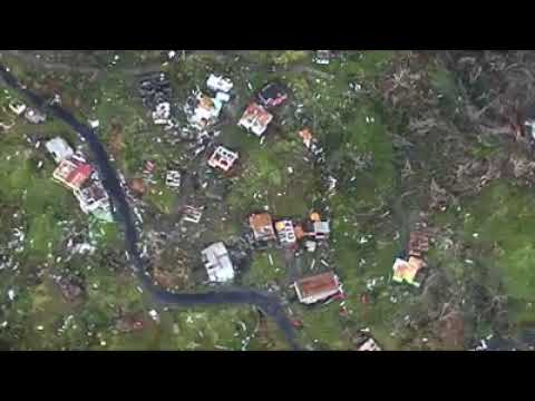 Dominica damage assessment (3) post Hurricane Maria - CDEMA - RSS Flight Wed 20170920