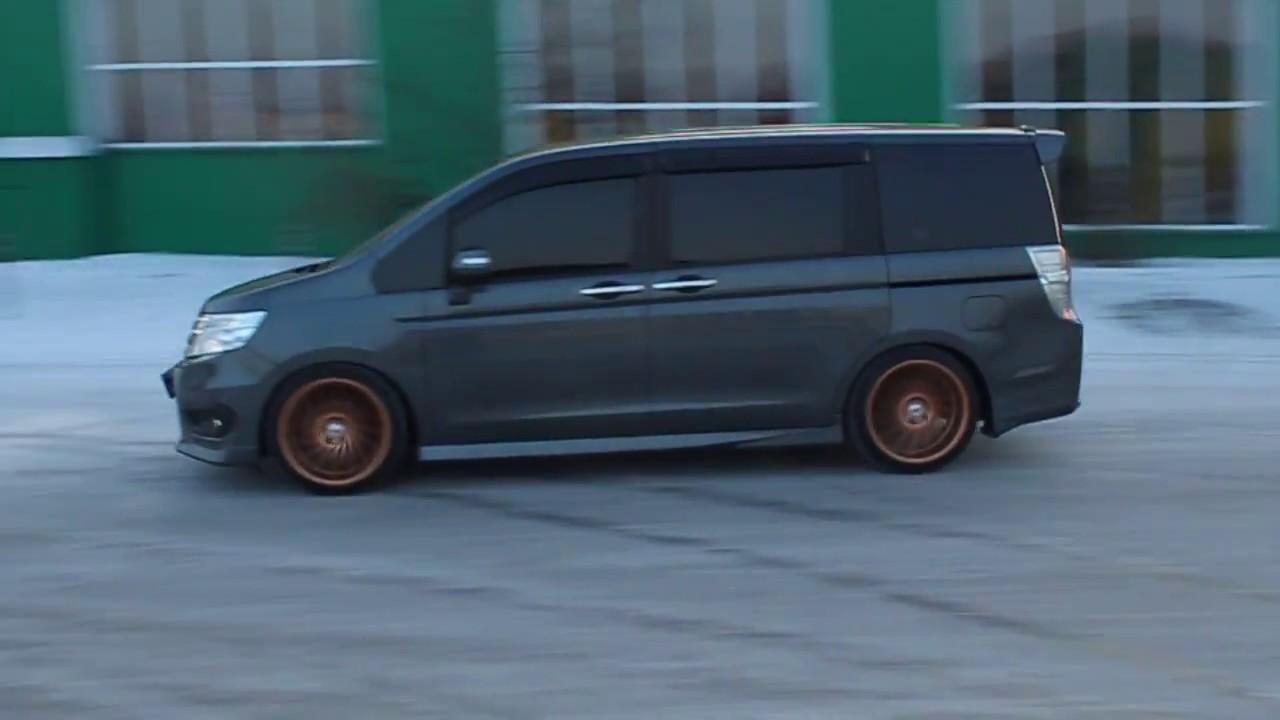 Honda Stepwgn дискОвОз - YouTube