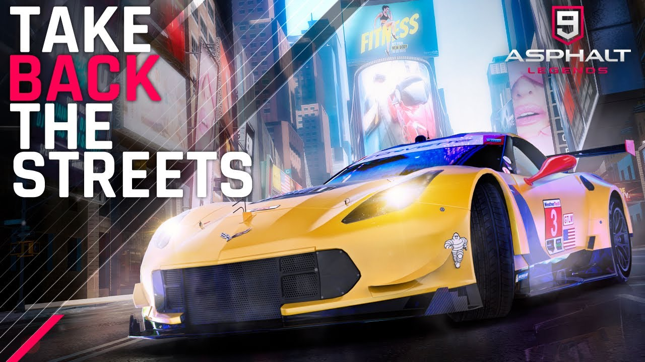 Asphalt 9 - American Season🗽││Take Back The Streets - YouTube
