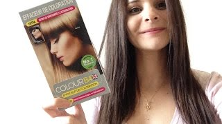 ♡ Enlever une coloration Noir ou Ratée avec Color B4 !! ♡ (Pauline)