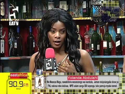 FRIDAY NIGHT LIVE - Dayna Nyange afunguka 'kuchovya' na mdogo wake Drake