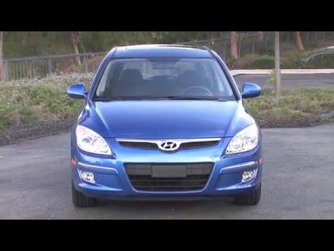 2012 Hyundai Elantra Touring B-Roll Video (720i)