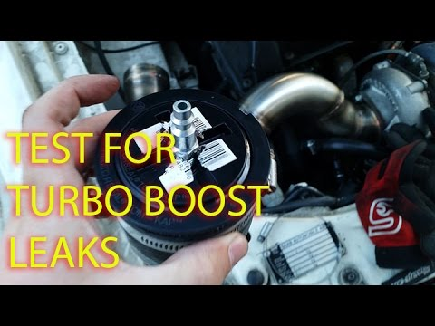 how to test turbo boost leaks youtube. Black Bedroom Furniture Sets. Home Design Ideas