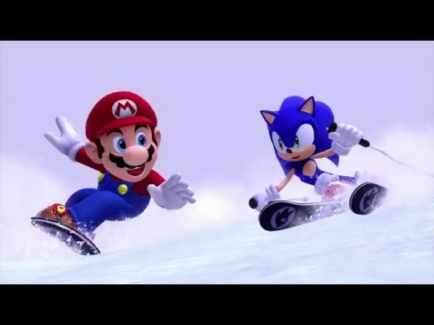 Mario and Sonic at the Sochi 2014 Olympic Games First Look