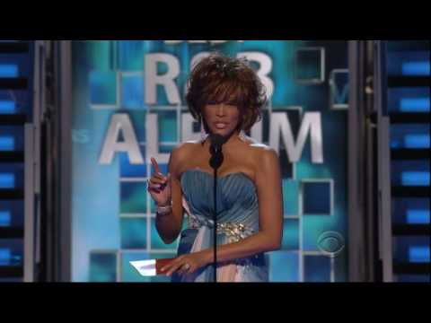 2009 GRAMMY Awards - Whitney Presents/Jennifer Hudson Wins