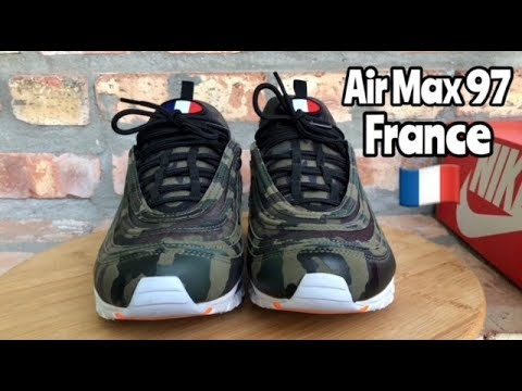 "best website cc1e4 cd6a9 Air Max 97 ""France"" ""Country Camo"" review"