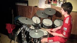 Kamelot - When The Lights Are Down(drum cover)