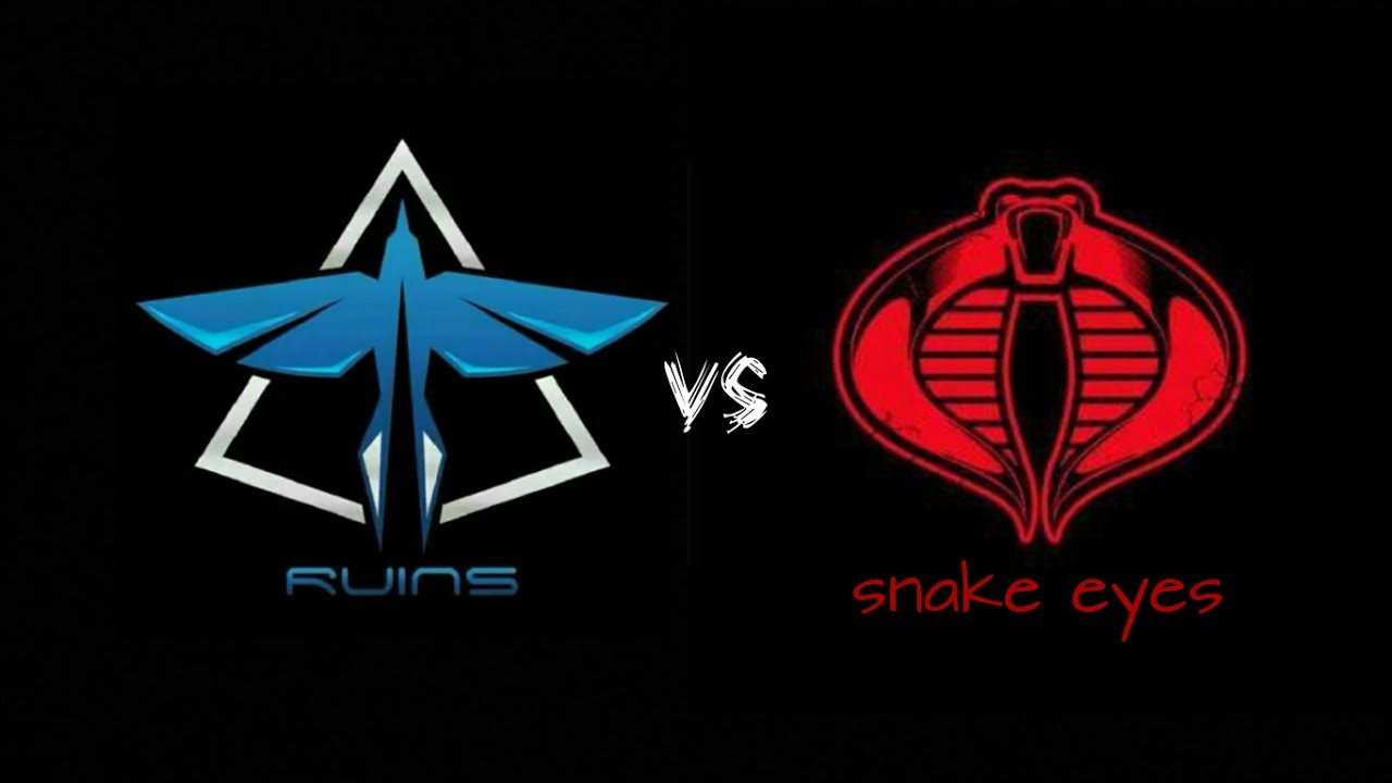 Ruins Top Squad Indonesia Vs Snake Eyes Squad Battle Mobile