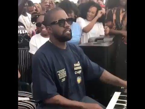 Kanye West gets down as a DJ House Hip Hop Set