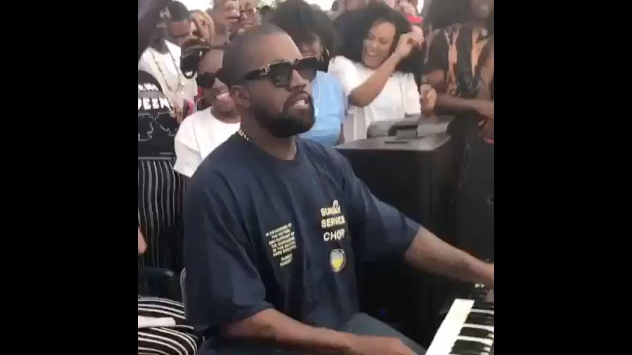 Kanye West Gets Down As A Dj House Hip Hop Set Youtube