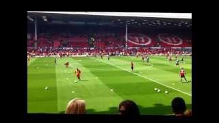 Liverpool FC vs Bayer Leverkusen (Pre-Season Friendly - Aug 2012)