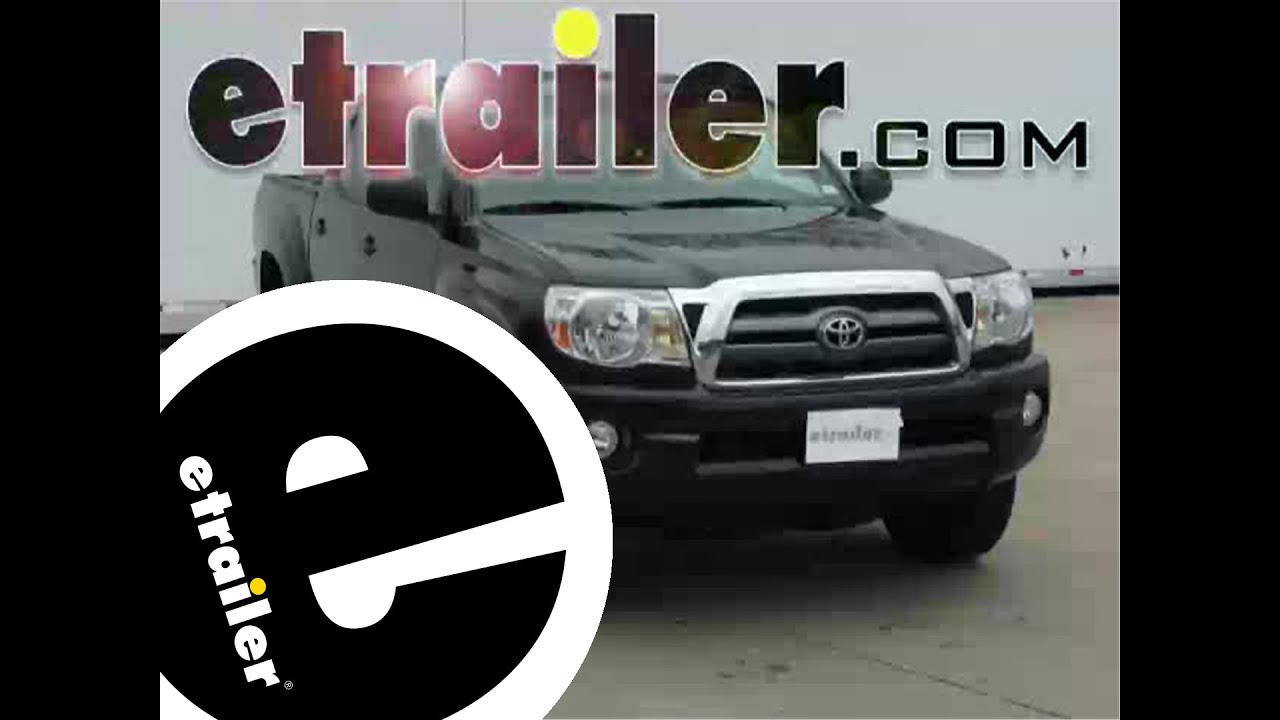 maxresdefault installation of a trailer wiring harness on a 2010 toyota tacoma 2016 tacoma wiring diagram at crackthecode.co