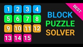 Block Puzzle Solver - Gameplay