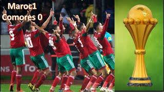 Maroc VS Comores