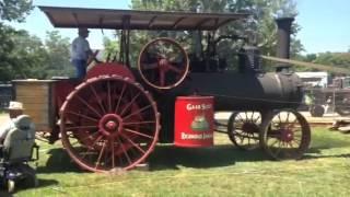 25hp Gaar Scott traction engine on sawmill