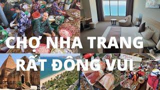 Du lịch Nha Trang #1: Chợ Mới cực đông vui, mực siêu lớn - Khách sạn 5 sao Mường Thanh chỉ hơn 900k