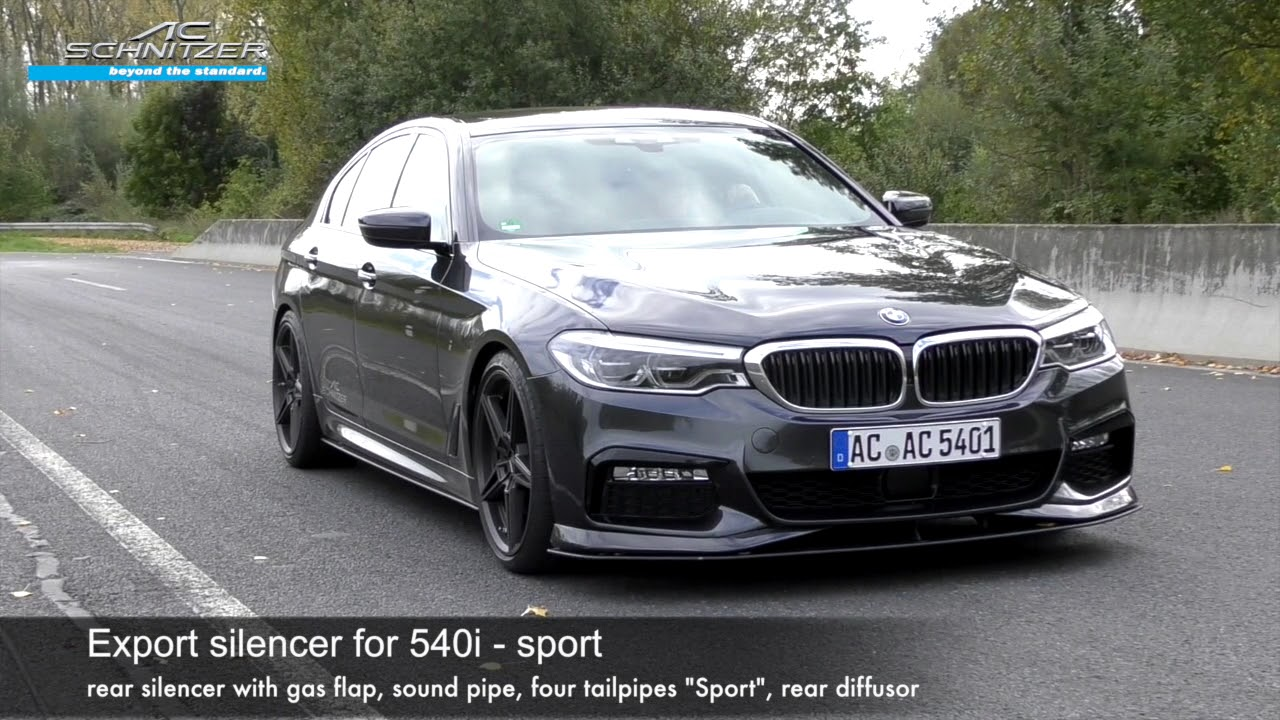 medium resolution of 540i by ac schnitzer export sound