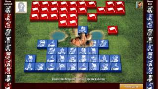 Stratego - Jensneuij vs. Ajax123 - Online WC Stratego 2015