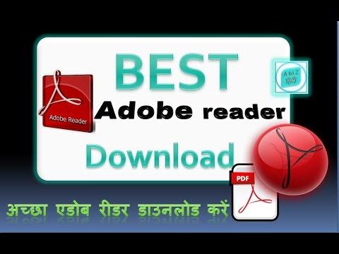 how to best download adobe reader in hindi & urdu