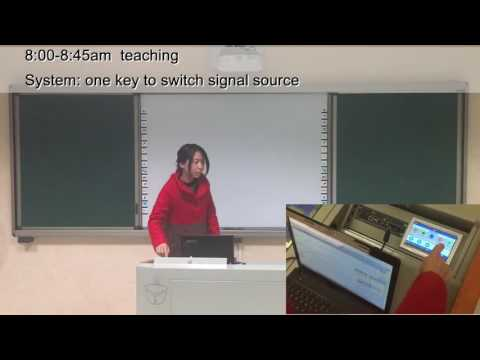 Insyte Smart Classroom Equipment Control System