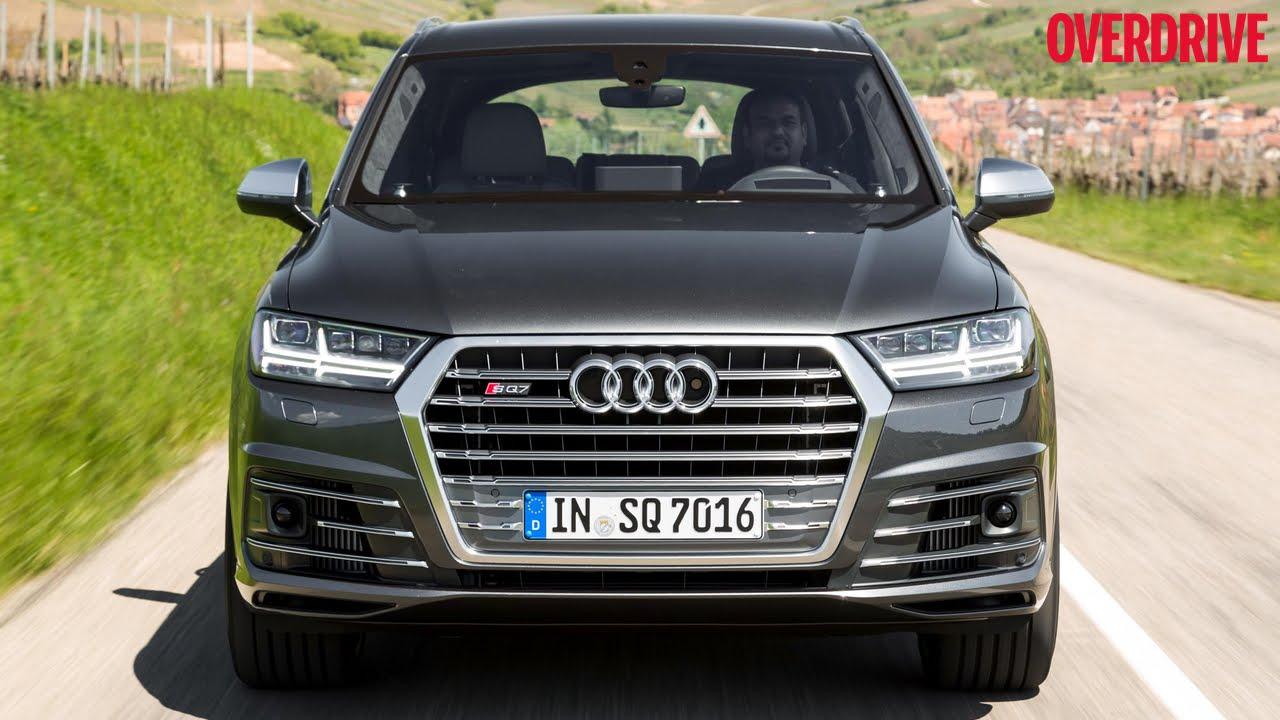 Audi audi sq7 tdi : Audi SQ7 TDI - First Drive Review - YouTube