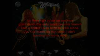 Whitesnake - Here I Go Again (Lyrics)